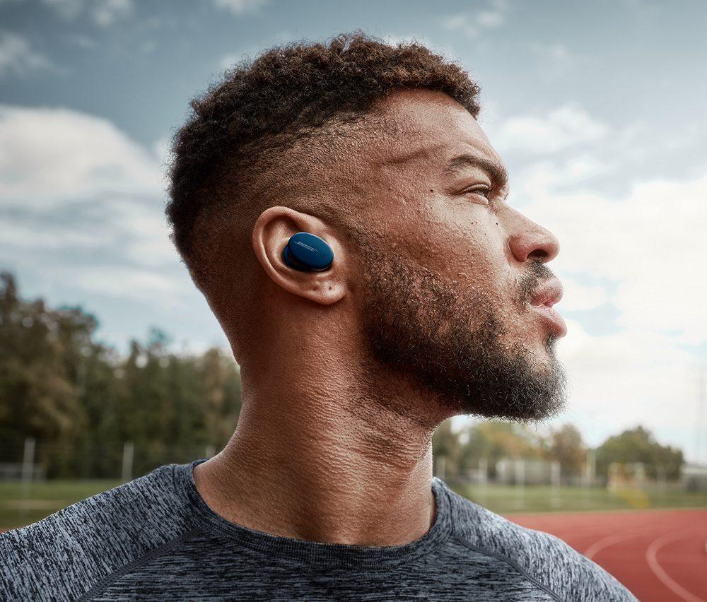 Die Bose Sport Earbuds im Einsatz
