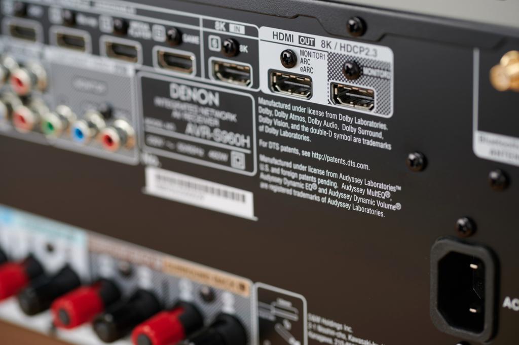 Denon AVR-S960H - HDMI 2.1 mit 8K und eARC