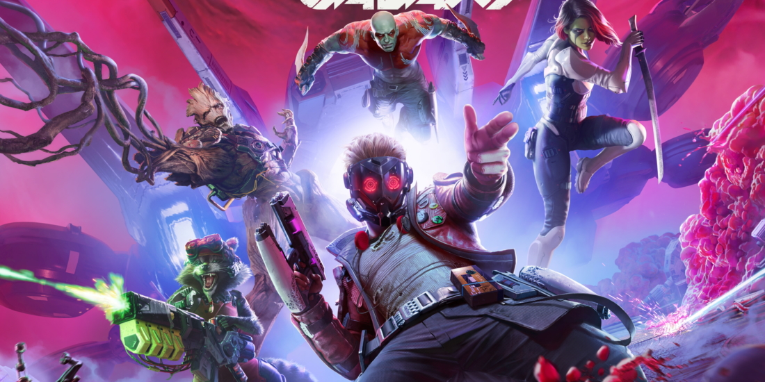 e3 2021 mit den Guardians of the Galaxy