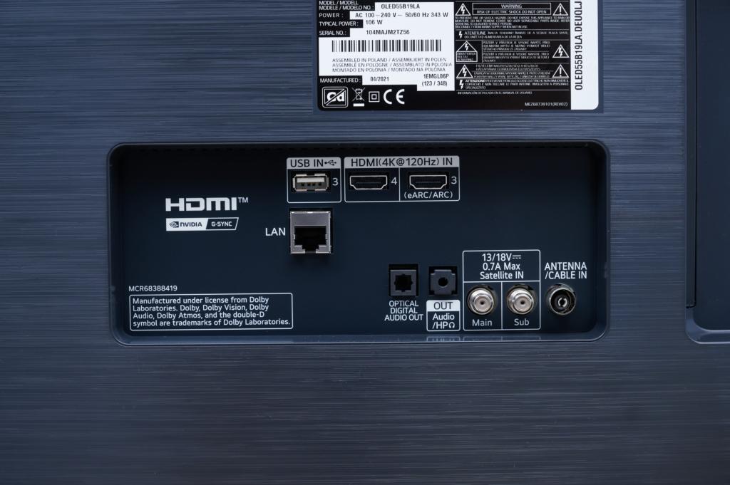 HDMI 3 und 4 für Gaming mit 4K bei 120fps