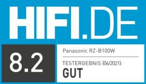 Testsiegel Panasonic Rz B100W