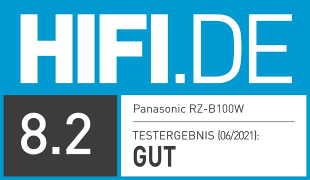HIFI.DE Testsiegel für Panasonic RZ-B100W