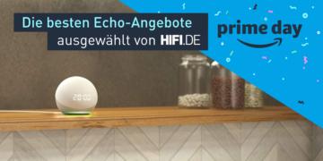 Titelbild Prime Day Echo-Produkte