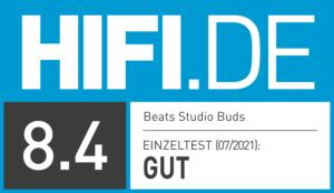 HIFI.DE Testsiegel-kopfhörer-beats-studio-buds-8.4