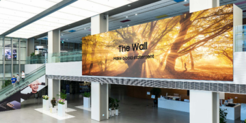 Samsung The Wall: Kolossaler MicroLED-TV mit bis zu 1000 Zoll