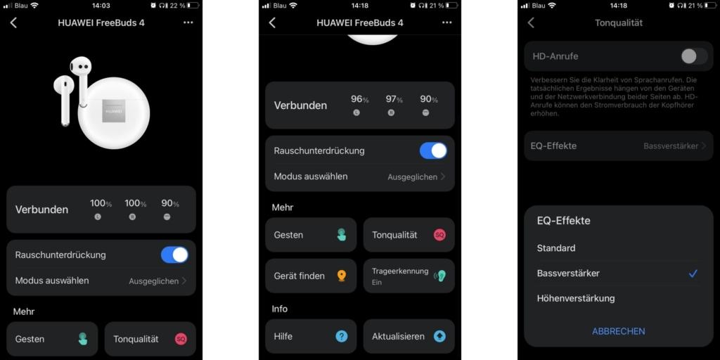 Huawei FreeBuds4 App