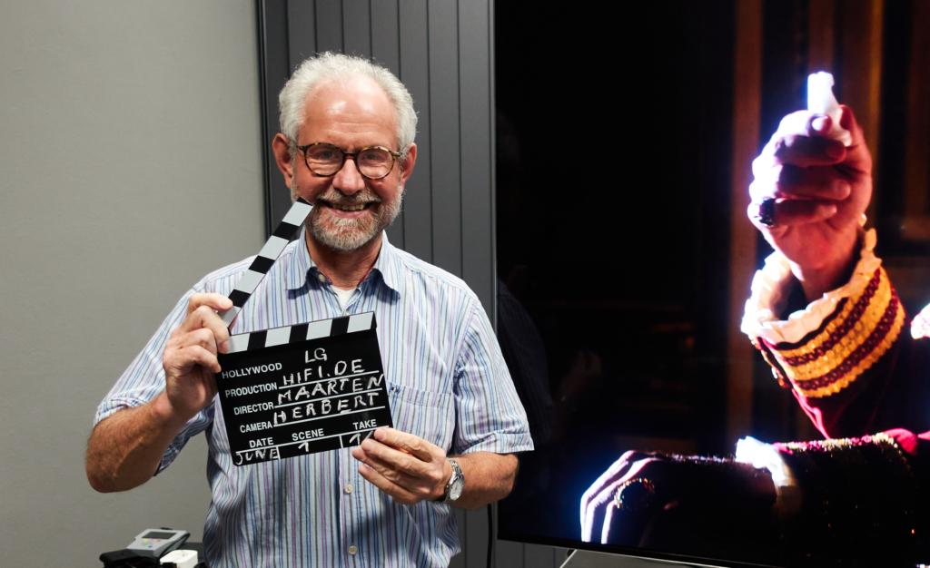 Herbert Bisges besucht LG TV Labor