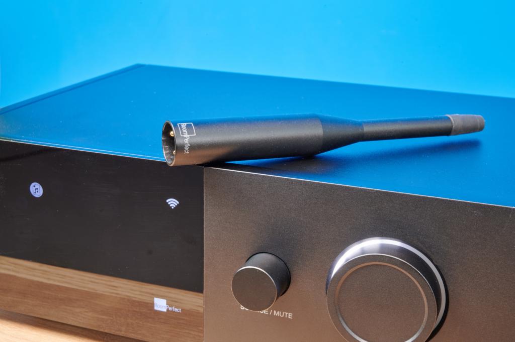 Lyngdorf TDAI-1120 – Messmikrofon