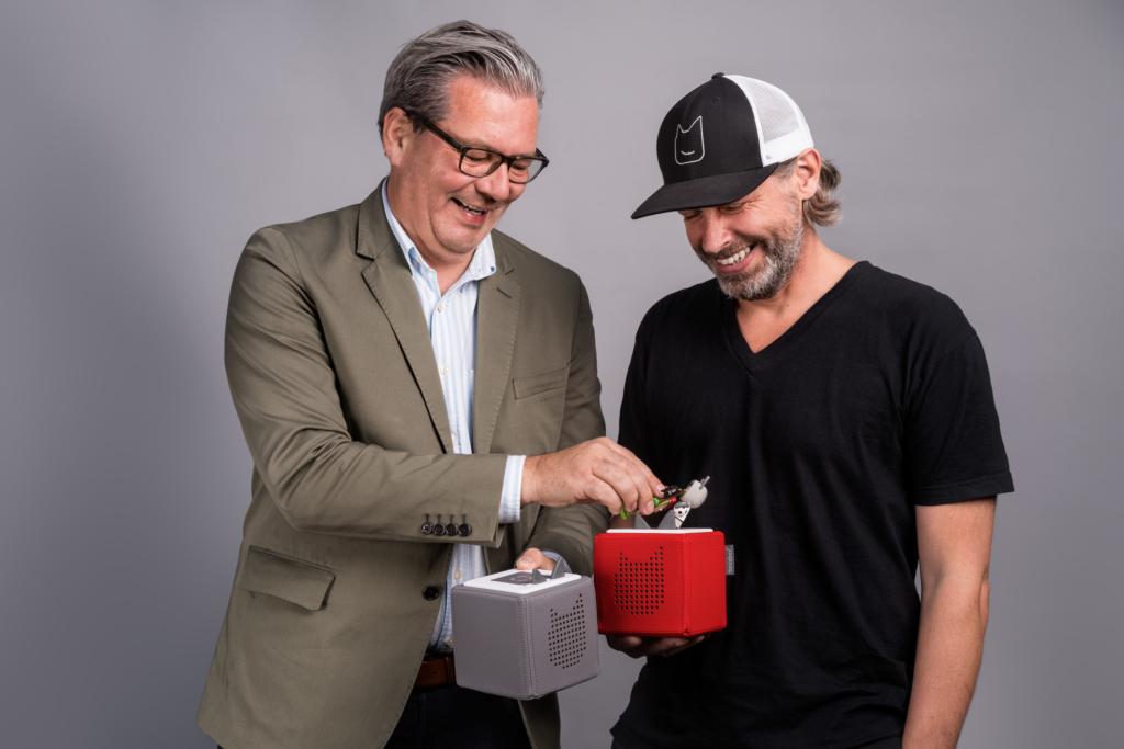 Gründer Firma Boxine GmbH Marcus Stahl und Patric Faßbender