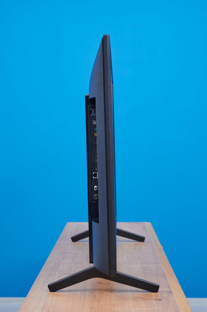 Der Sony X80J von der Seite