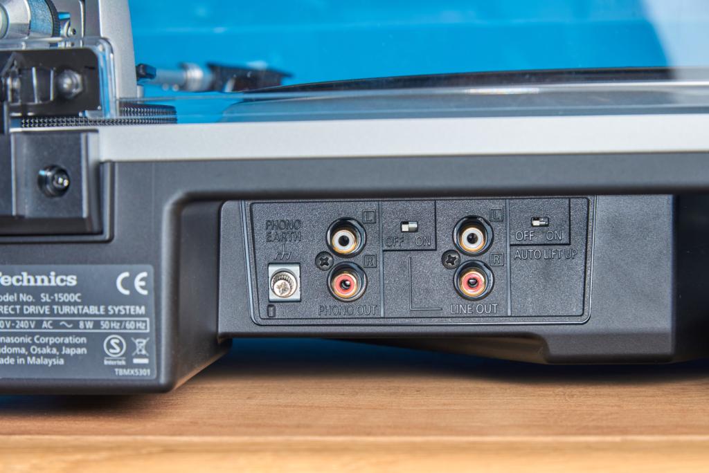 Technics SL-1500C - Anschlüsse