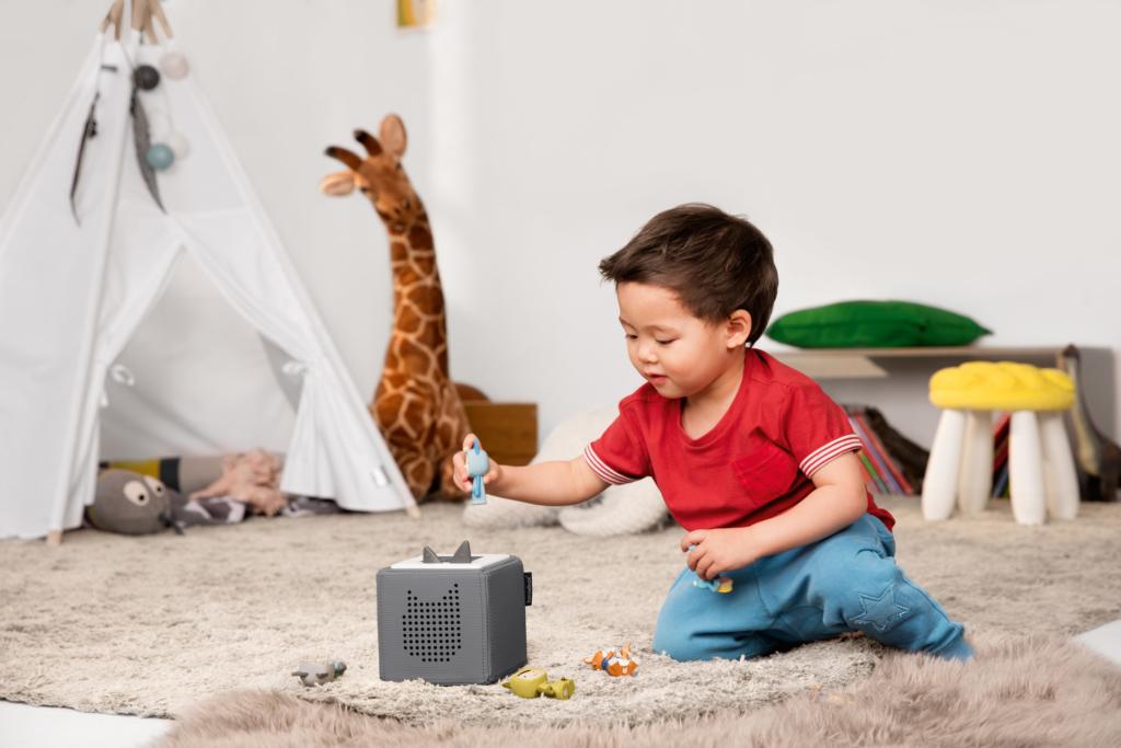 Toniebox im Kinderzimmer