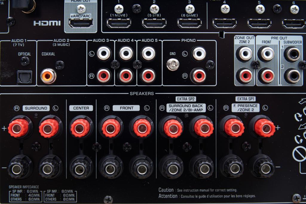 Yamaha RX-A2A – Phono-Eingang