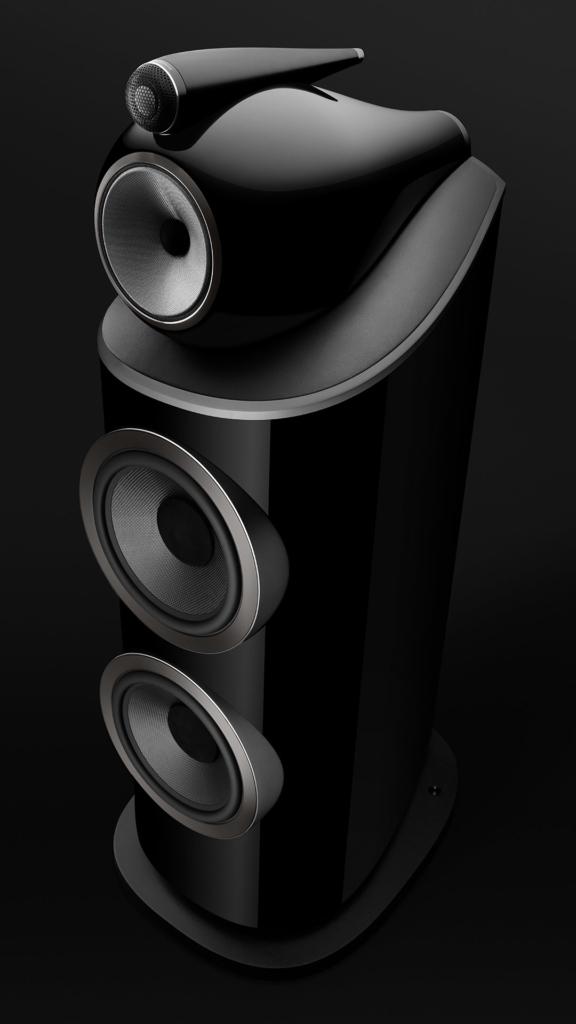 B&W 801 D4 schwarz