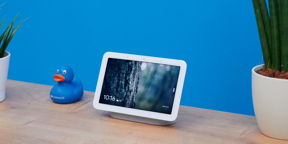 Google Nest Hub 2 im Test: Mit Schlaftracking an die Spitze?