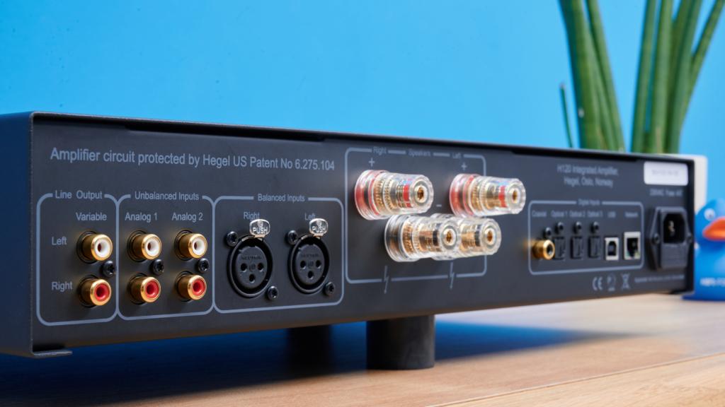 Streaming-Verstärker Hegel H120 - Rückseite