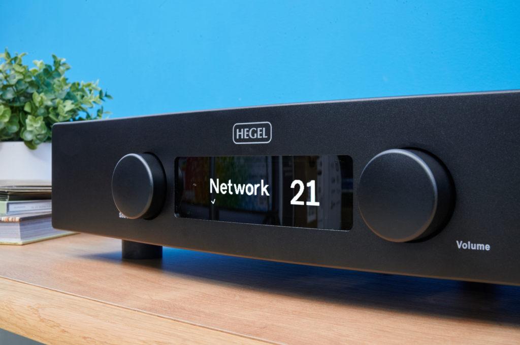Streaming-Verstärker Hegel H120 - Display