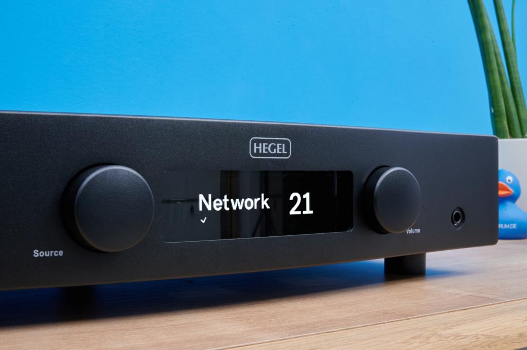 Streaming-Verstärker Hegel H120 - Design