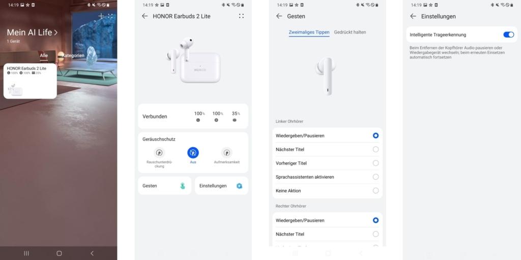 Honor Earbuds 2 Lite App
