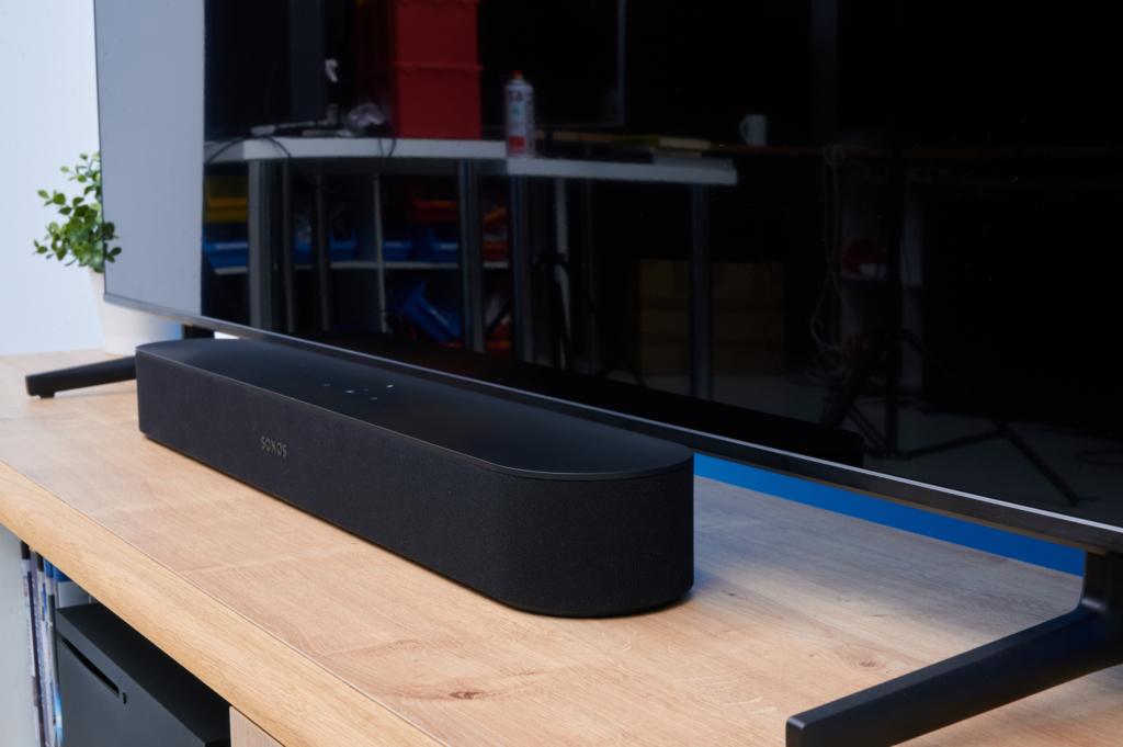Samsung Q60A - Soundbar Setup aus der Nähe