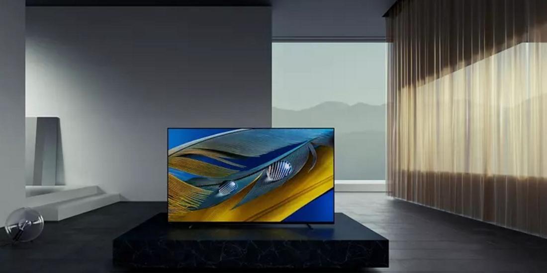 Sony OLED im Raum