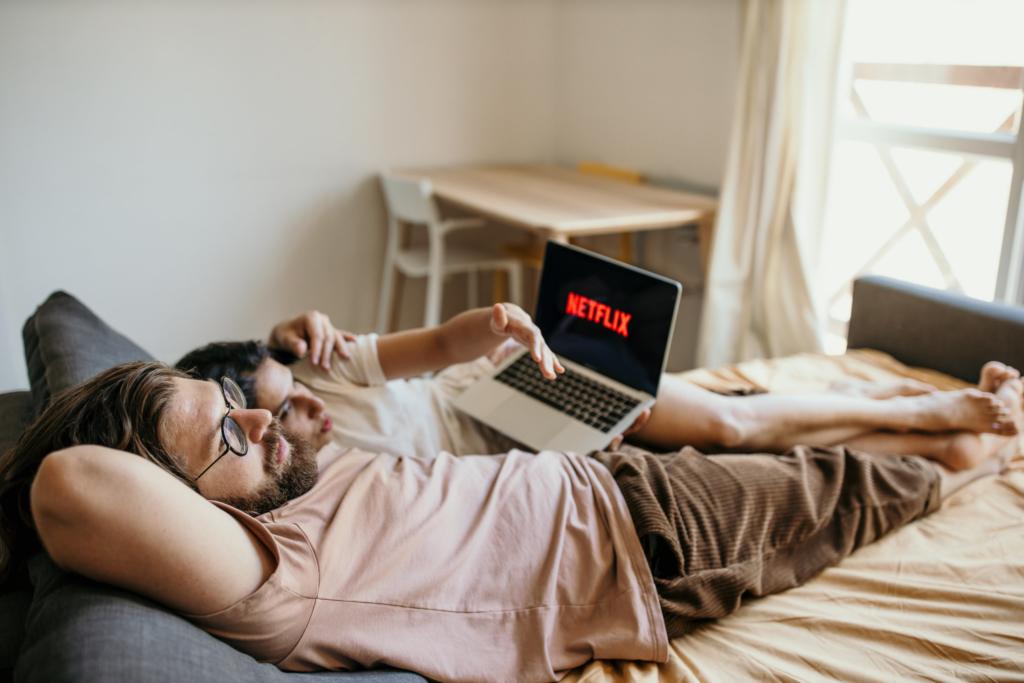 Hauptsache entspannt: Streaming und Disc können koexistieren.