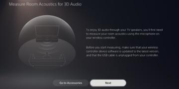 3D-Audio auf PS5: Jetzt auch am Fernseher
