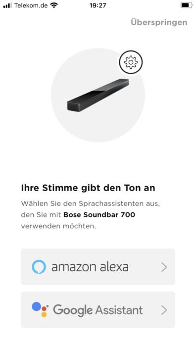 Bose Smart Soundbar 700 Alexa oder Google
