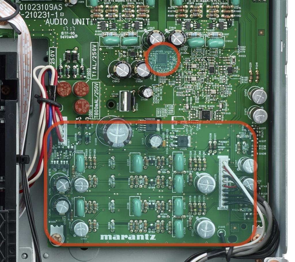 Marantz ND8006 Platine