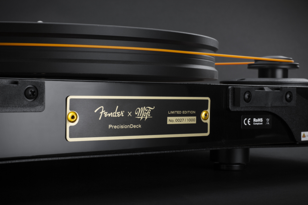 Fender x MoFi PrecisionDeck Rückseite