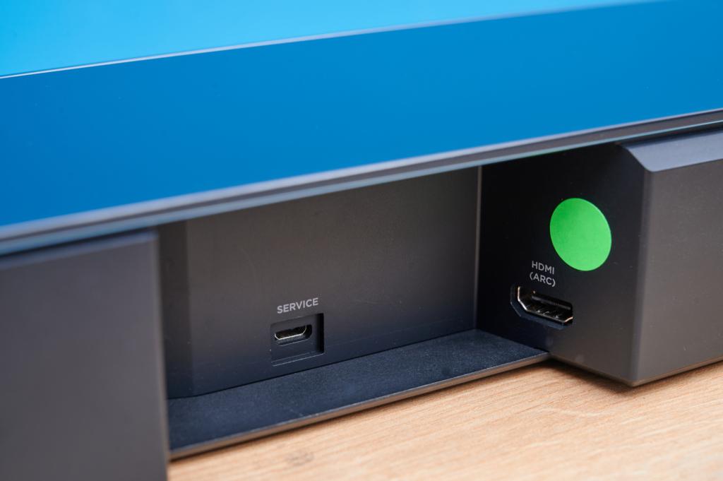 Bose Smart Soundbar 700 Anschlüsse1