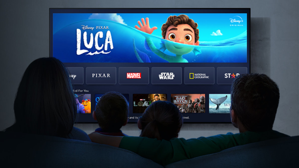"""Pixar-Filme wie """"Luca"""" sind direkt bei Disney+ gestartet."""