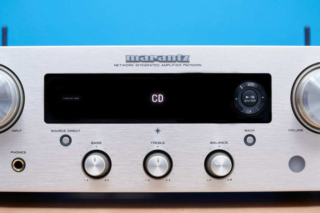 Marantz PM7000N - Display