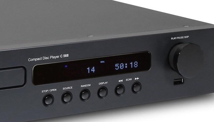 NAD C568 - Display