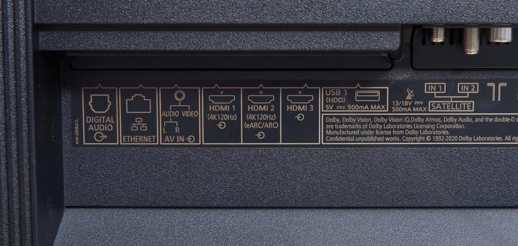 PANASONIC OLED JZW2004 HDMI 2.1 und TV-Tuner