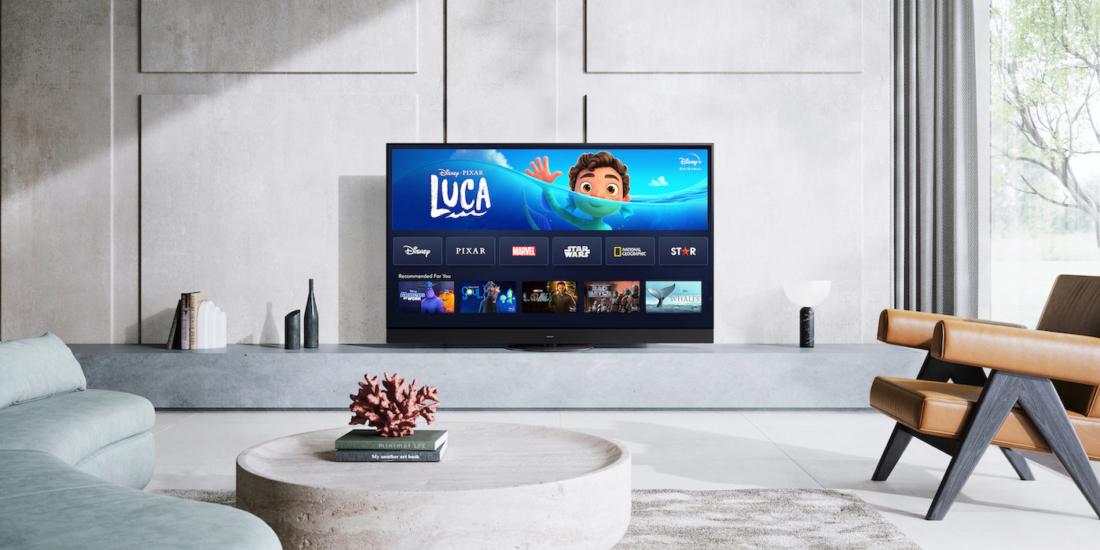 TVs von Panasonic ab dem Modelljahr 2017 erhalten die App für Disney+.