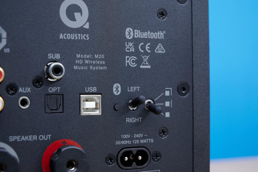 Q Acoustics M20 Kippschalter