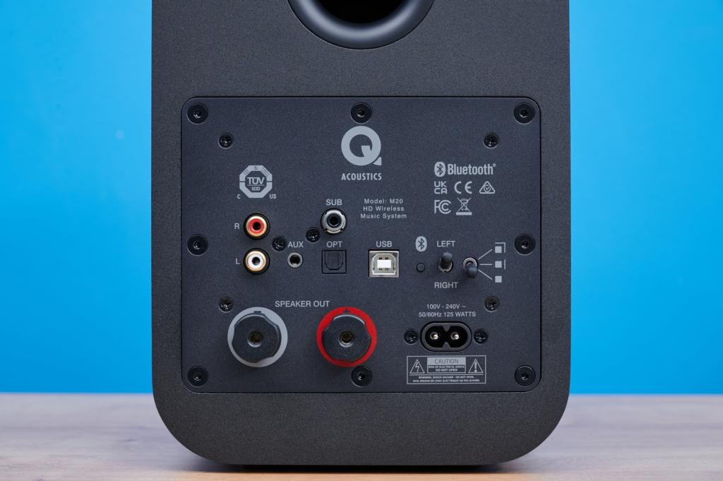 Q Acoustics M20 Anschlüsse