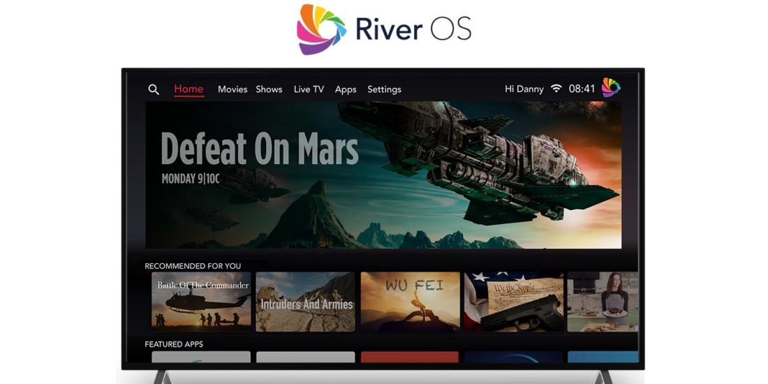 Werbung ist bei River OS ein zentrales Element.