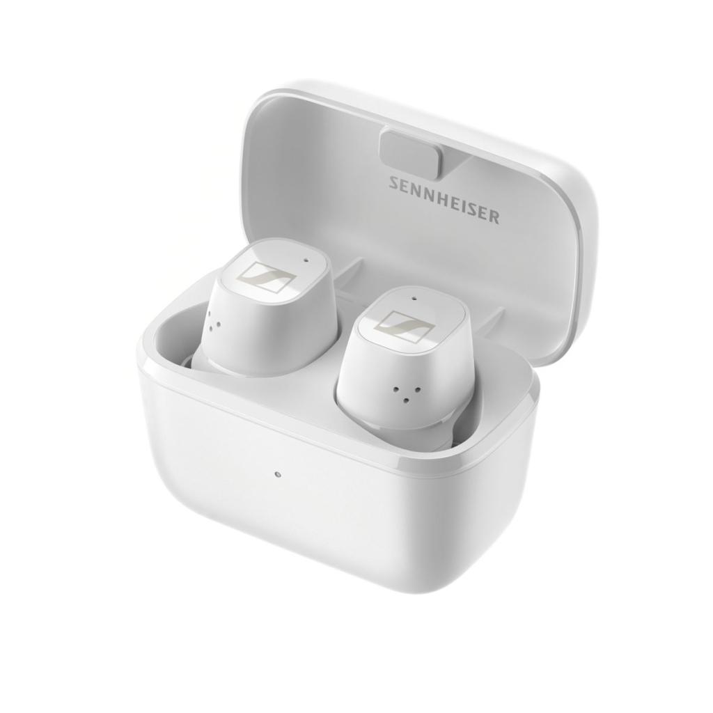 Die Sennheiser CX Plus True Wireless in Weiss