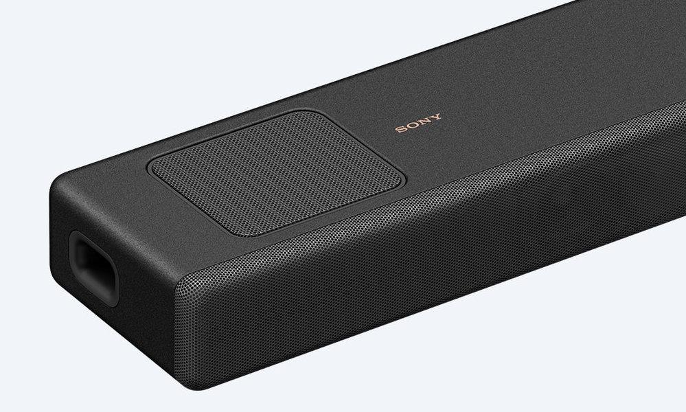 Die Sony HT-A5000 setzt auf Upfiring-Treiber an der Oberseite.
