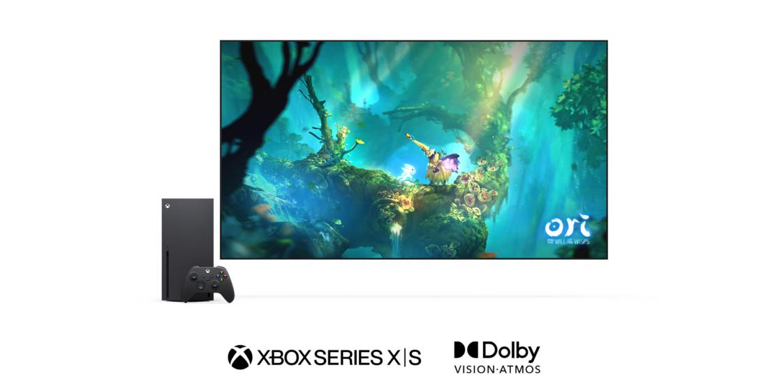 Die Xbox Series X|S unterstützen ab heute Dolby Vision Gaming.
