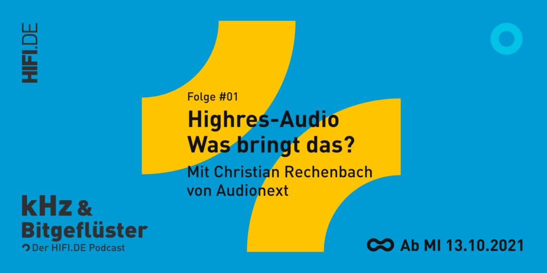 kHz & Bitgeflüster Podcast von HIFI.DE