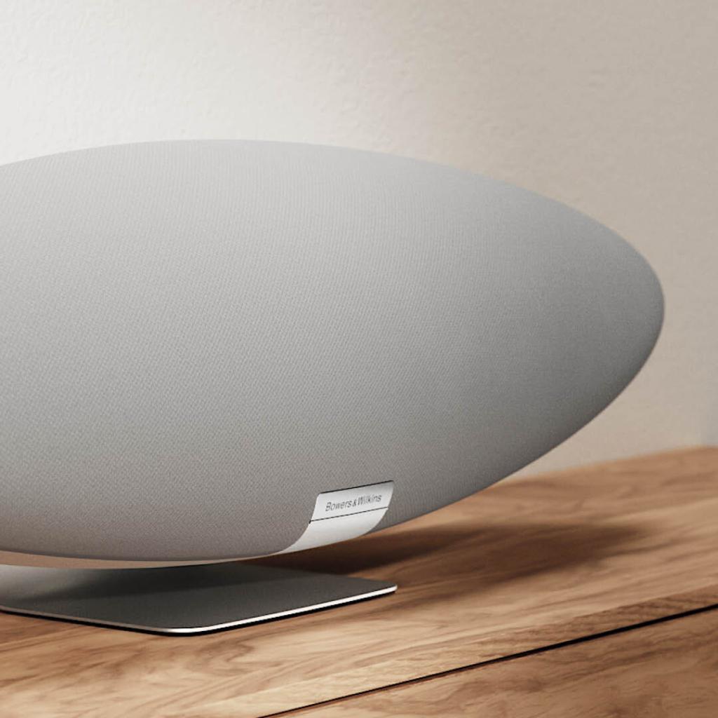 Bowers & Wilkins Zeppelin Pearl Grey