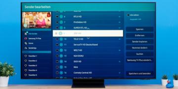 Sender sortieren bei Samsung Fernsehern: So gehts!