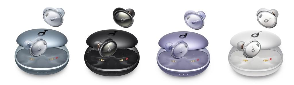 Die Anker Soundcore Liberty 3 Pro erscheinen in mehreren Farbvarianten.